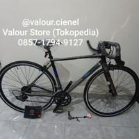 Roadbike road bike RB Polygon Strattos stratos S2 Size 51 M not S3 S4 - Abu-abu, M - 51