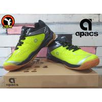 Sepatu Badminton APACS CHUSION POWER 076 Anak - N.GREEN/BLACK