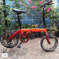 Jual Sepeda Lipat Laux Milan Murah Harga Terbaru 2020