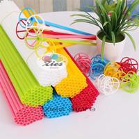 Stick balon besar / stick and cup / stik balon besar - pink