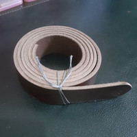Bahan Tali Gesper 3cm Kulit Asli