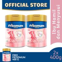Frisomum Gold Susu Ibu Hamil dan Menyusui 400g [2 pcs] Free Gift