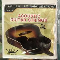 Senar gitar akustik SLR