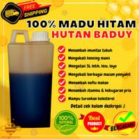 Madu Murni Hitam Pahit Asli Madu Hutan Odeng Baduy 100% Raw Honey mo60