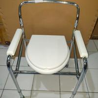 Kursi Bab Lansia Lipat / Kursi Puk Commode Chair Pispot
