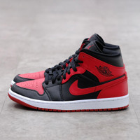 Nike Air Jordan 1 Mid Bred Banned 100% Authentic - 40.5
