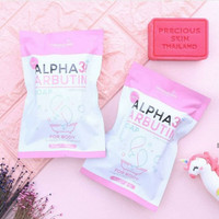 ALPHA ARBUTIN 3+ COLLAGEN SOAP WHITENING SOAP ORIGINAL THAILAND
