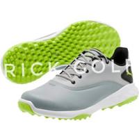 stick golf sepatu puma grip fusion abu/neon green