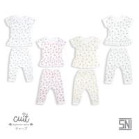 CUIT Setelan Ruffle Mix Tangan Pendek Celana Panjang TAKA Series