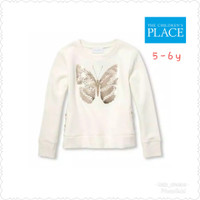 PLACE SWEATER ANAK PEREMPUAN / THE CHILDREN PLACE SWEATSHIRT BUTTERFLY