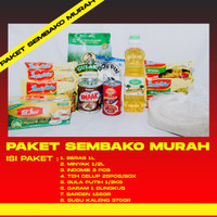 Paket Sembako Lengkap Murah | Parcel Sembako Murah Lengkap (Paket 4)