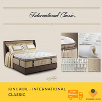 Spring Bed King Koil Type International Classic