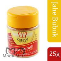 KOEPOE KOEPOE Jahe Bubuk 25g - Cap Kupu Kupu Ginger Ground Powder