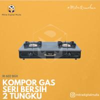 Rinnai RI 602 BGX Kompor Gas 2 Tungku