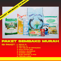 Parcel Sembako Murah Lengkap | Paket Sembako Murah Lengkap (Paket 6)