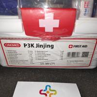 Kotak First Aid perlengkapan P3K Jinjing Onemed