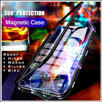 VIVO V11 PRO LUXURY MAGNETIC CASE TEMPERED GLASS BACK
