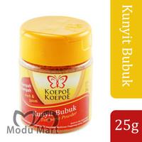 KOEPOE KOEPOE Kunyit Bubuk 25g - Cap Kupu Kupu Turmeric Ground Powder