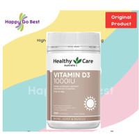 Healthy Care Vitamin D3 1000IU 250 softgel