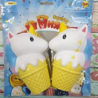 Squishy Murah Jumbo Cute Unicorn Ice Cream Cone