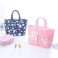 Tas Bekal Lunch Cooler Bag Box Makanan Kotak Makan Anak bermotif 007 - 4. Pink