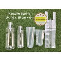 Kantong plastik BENING PE 10 x 35cm - isi 100 pcs (500gr)