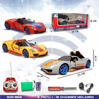 PROMO RDR053 RC Sport Buka Pintu Mainan Anak Mobil Remote Control RADA - Merah