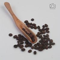 Sendok Kopi Kayu / Coffee Spoon / Properti Foto Makanan