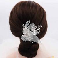 AR064 simple wedding hair accessories murah / aksesoris rambut
