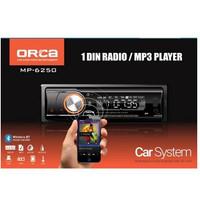 Tape Single Din ORCA MP 6250 Bluetooth MP3 USB Aux Radio