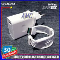 Charger Oppo Reno 3 Pro Reno 4 ORIGINAL 100% 5V-6A 30 Watt USB C