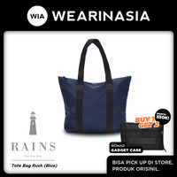 Tas Tote Bag Wanita Pria Waterproof Rains Tote Bag Rush Blue