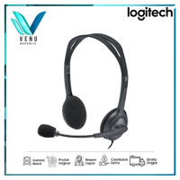 Logitech H110 Wired Stereo Headset with Noise Cancelling Microphone