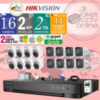 Paket CCTV Hikvision TURBO HD ( 16 Channel ) Lengkap Pasang Dipandu