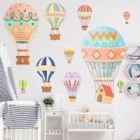 Wall Sticker Balon Udara / Stiker Dinding Kamar Anak Lucu Air baloon