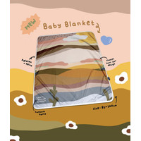 Baby Blanket - No Custom (bisa request nama)