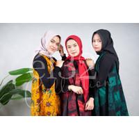 Kerudung Segi Empat Instan eL32   Hijab Instan (DAPAT 3PCS)