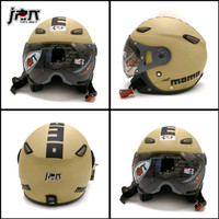 Helm Bogo /Retro helm jpn kawai momo kaca pilot cappuccino