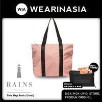 Tas Tote Bag Wanita Pria Waterproof Rains Tote Bag Rush Coral