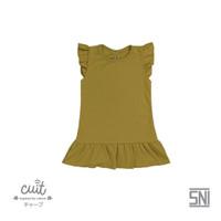 CUIT Ruffle Dress - Block color Series Renda