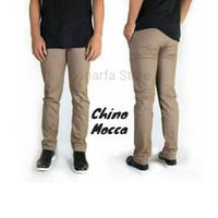 """Celana Panjang Chino Premium """" Mocca - Mocca, S"""