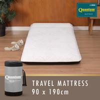 Kasur Lipat Travel Bed QUANTUM / Kasur Gulung 90 x 190 x 8cm ORIGINAL