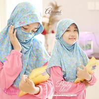 Kerudung Jilbab Quail Hijab Instan Anak Masker Cadar Syari ARUMI