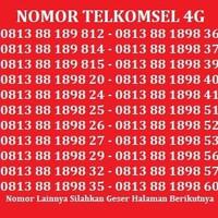 Nomor Cantik XL Nomor Simpati Kartu Perdana Telkomsel XL Axis Indosat