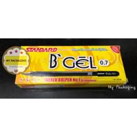 Ball Point B'GEL 0.7 -12pcs Hitam / Pulpen / bolpen STANDARD