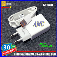 Charger Realme C12 ORIGINAL 100% Micro USB 10 Watt Resmi Indonesia