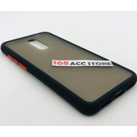 CASE XIAOMI REDMI 5 PLUS / LIST COLOR CASE REDMI 5+ / PC LIST COLOR - Hitam