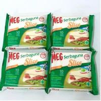 MEG Serbaguna Keju Cheddar Cheese 150gr isi 10 slices