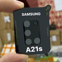 Samsung A21S A31 A51 A71 Tempered Glass Pelindung Kamera 3D Full