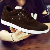 Sepatu Sneakers Sport Kets Running Jogging Pria Murah 2103 - Cokelat, 39